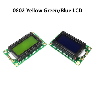 8 x 2 LCD Module 0802 Characte