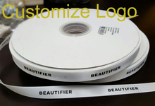 Custom Logo DIY satin ribbon Personalized packing printing marriage customize logo ribbon/GIFT PACKING