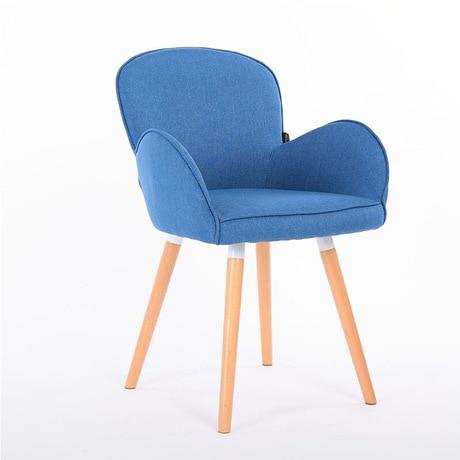 Us 15129 11 Offcafe Krzesła Cafe Meble Z Litego Drewna Tkanina Bawełniana Krzesło Kawowe Jadalnia Krzesło Szezlong Minimalistyczny Nowoczesny