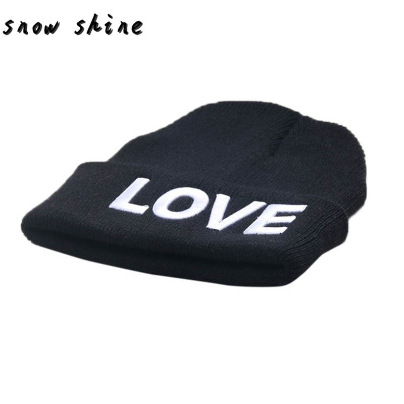 136604c8998 snowshine YLIW Love Embroidery Baby Beanie For Boys Girls Hat Children  Winter Hats free shipping