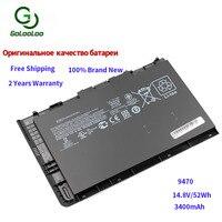 Golooloo 14.8v/3400mAh laptop battery for HP EliteBook Folio 9470/9470m Ultrabook Series HSTNN DB3Z IB3Z I10C BT04 BT04XL BA06