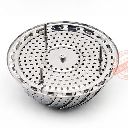 Vaporizador plegable de acero inoxidable de 9 pulgadas rejilla al - Cocina, comedor y bar - foto 5