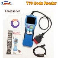 Free postage t70 T70 Code ReaderUniversal Fault Code Scanner OBD2 OBDII EOBD+JOBD Software Upgradeable Vehicle Quality assurance