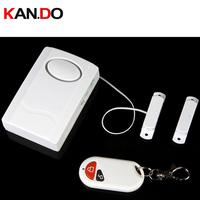 Magnetismo porta/Porta Sensor De Alarme Sem Fio Alarme de Porta sensor de porta alarme sensor magnético de alarme de Controle Remoto