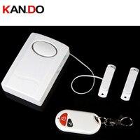 Puerta/Puerta de Magnetismo De Alarma Sensor de alarma del sensor de puerta de Alarma sensor magnético de la Puerta de Control Remoto Inalámbrico de alarma