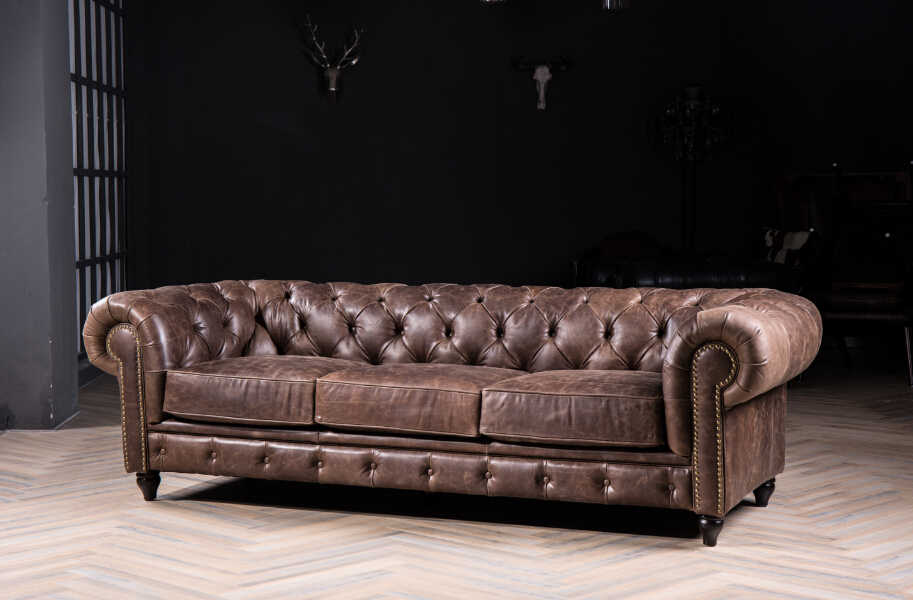 Surprising Modern Leather Chesterfield Sofa For Antique Style Leather Gmtry Best Dining Table And Chair Ideas Images Gmtryco