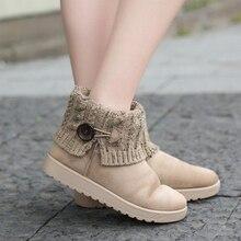 Tenis Bota Classic Women Shoes Bota Feminina Ankle 2018 New Women Shoes PU Boots Winter Snow