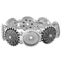 Hot seller High Interchangeable snap jewelry for ginger snaps bracelet in charm bangel fit 18-20mm snaps buttons bt0209