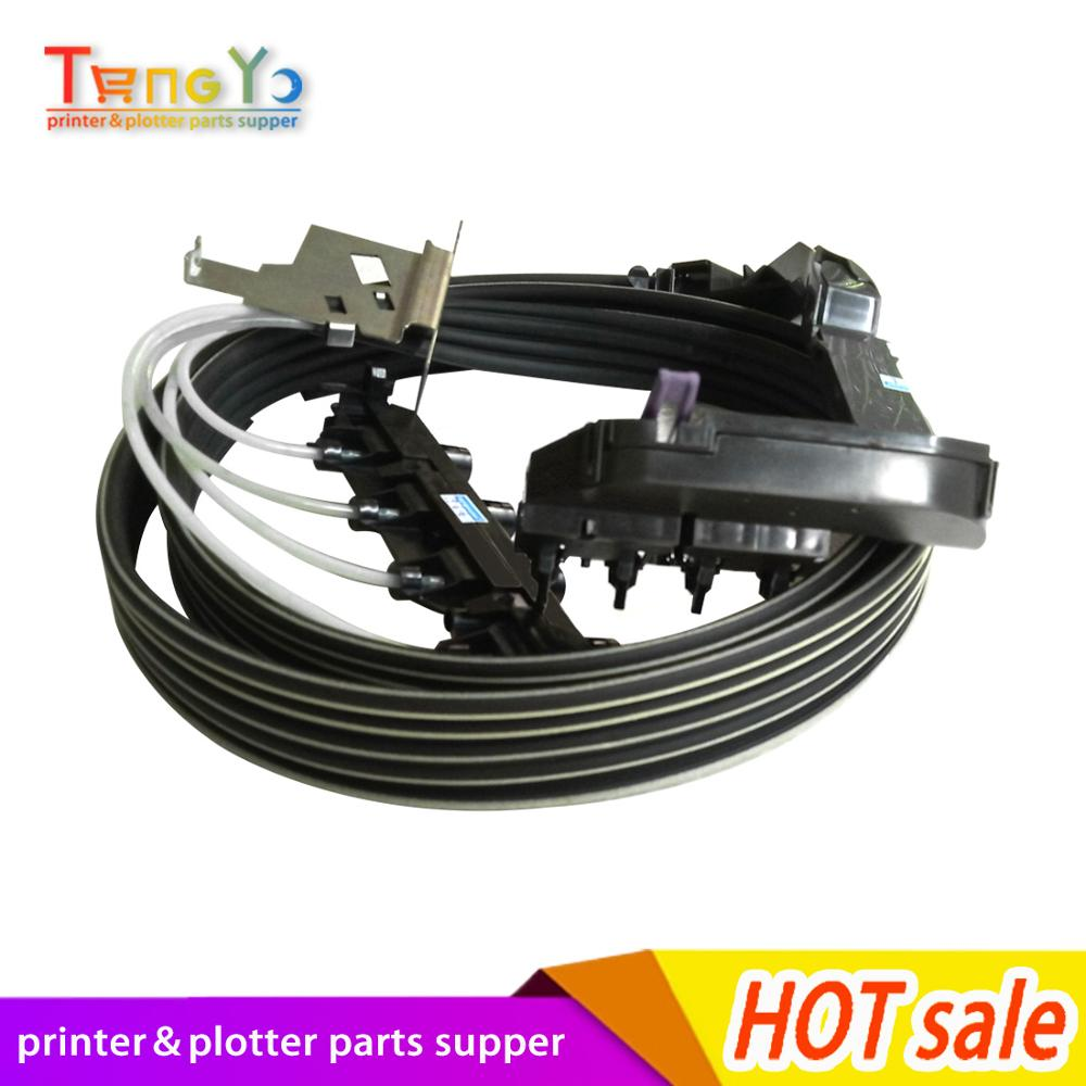 C7769 60381 C7769 60256 90% new DesignJet Plotter 500 510 800 Ink tube system Ink tube Assembly 24inch Plotter parts