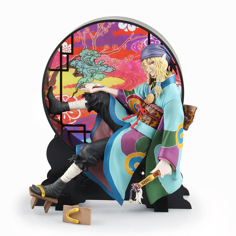 Free Shipping 8 Mononoke Ayakashi Anime Cartoon Kusuriuri - Medicine Seller Boxed 21cm PVC Action Figure Collection Model Toy anime one piece dracula mihawk model garage kit pvc action figure classic collection toy doll