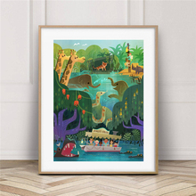 Jungle Cruise Wall Art Canvas Poster And Print Canvas Painting