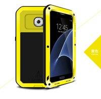 Orijinal Samsung Galaxy Için Güçlü Vaka S7 G9300 Su Geçirmez Darbeye Dayanıklı Alüminyum Durumlarda Kapakları Açık Aksesuarları Kişilik
