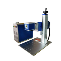 Free shipping RF 30W CO2 laser marking machine 10 times spot non metallic split industrial laser engraving machine coding machin