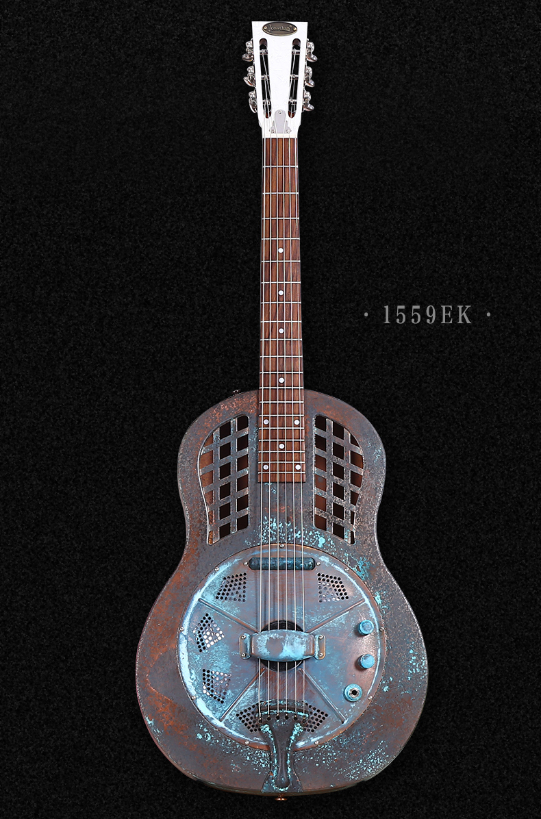 jonathan resonator guitar resophonic guitars blues guitar metal body duolian guitar. Black Bedroom Furniture Sets. Home Design Ideas