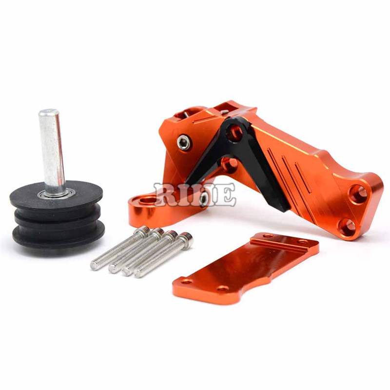 Motorcycle CNC Rear Axle Spindle Chain Adjuster Blocks chain adjuster tensioners For Yamaha FZ1 FAZER FZ6R FZ8 XJ6 FZ6 MT-07 09