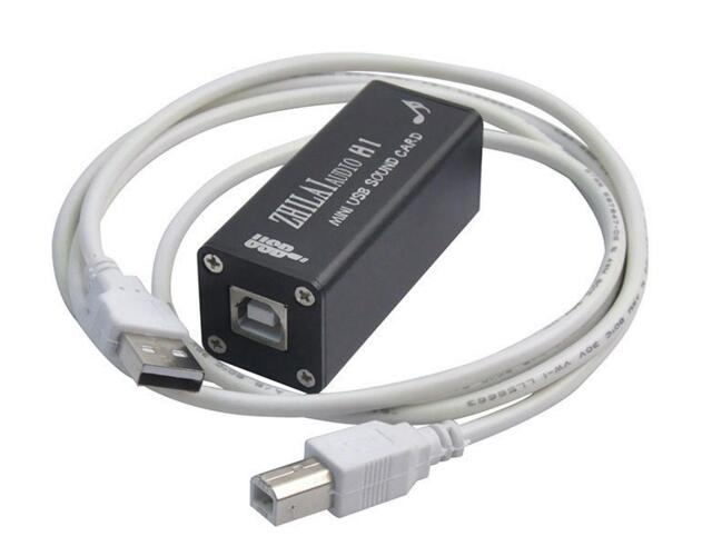 Music hall ZHILAI H1 HiFi Mini Computer External Sound Card PCM2704 Digital PC USB DAC Free Shipping