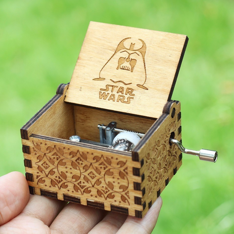 20 Styles Hot Star Wars Music Box Game of Thrones TwinkleStar Harry Potter Music Theme Caixa De Musica A Birthday Present