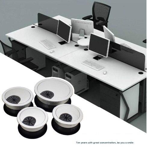 Online-Shop 50 53 60mm runde Loch schreibtisch tisch tülle Draht ...