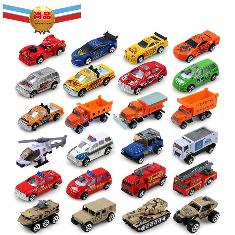 Car Toys Product : Metal toy bus mini finished products set hot wheels car