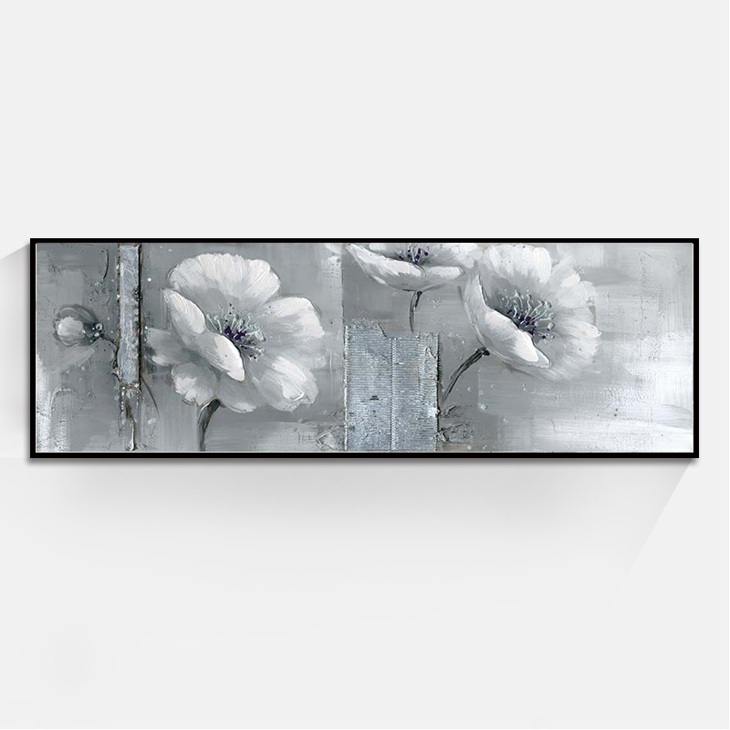 Fashion Louts Flower Bed Head Wall Art Oil Painting Home Decoration Bedroom  Living Room Painting Canvas