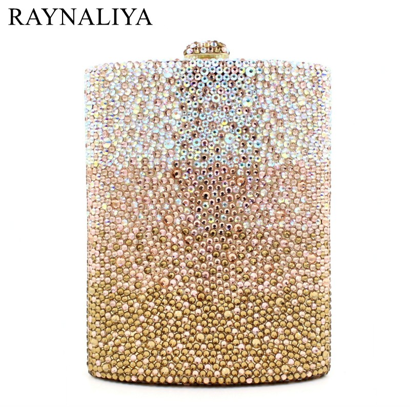 Women Diamond Wedding Party Wine Pot Clutches Hadnbag Perfume Bottle Crystal Evening Clutch Purse Gold Bag SMYZH-E0143 ladies wedding dress bridal crystal clutch bag women diamond dinner banquet evening purse silver metal clutches smyzh f0300
