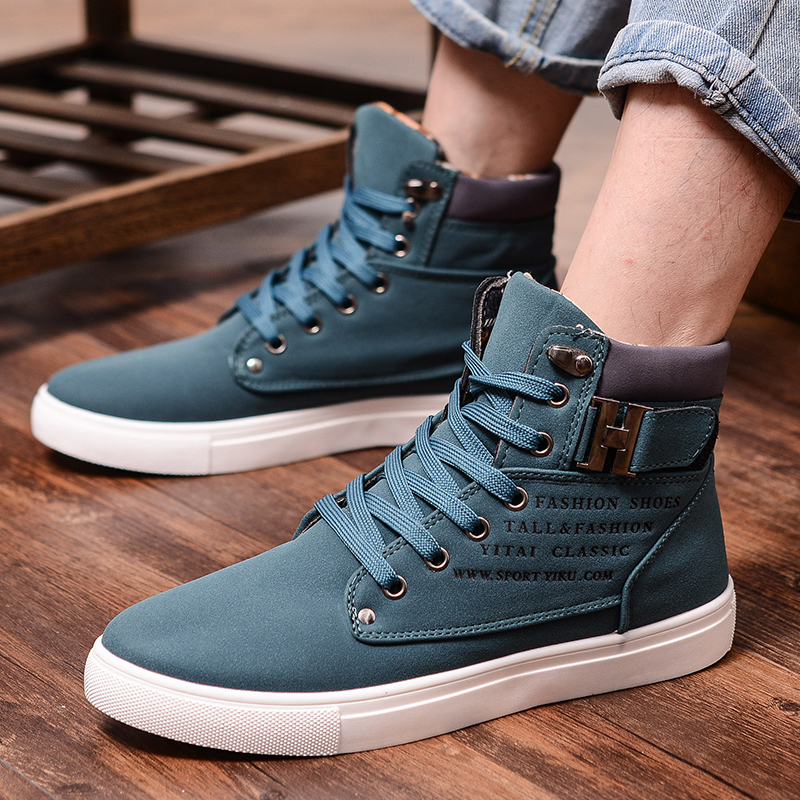 HOT Sale New Mens Winter Fleece Lined Warm Casual Comfort Slip On Shoes Fashion