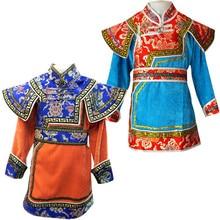 83aaeb6e3a40b منغوليا ملابس للأولاد ازياء الأمير زي الطفل ازياء الوطني الصيني منغوليا  ملابس الأطفال القديم(China