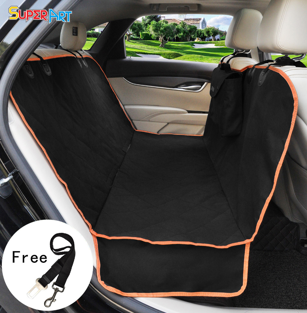 dog car seat cover protector cushion cover waterproof durable practical black oxford hammock mat. Black Bedroom Furniture Sets. Home Design Ideas