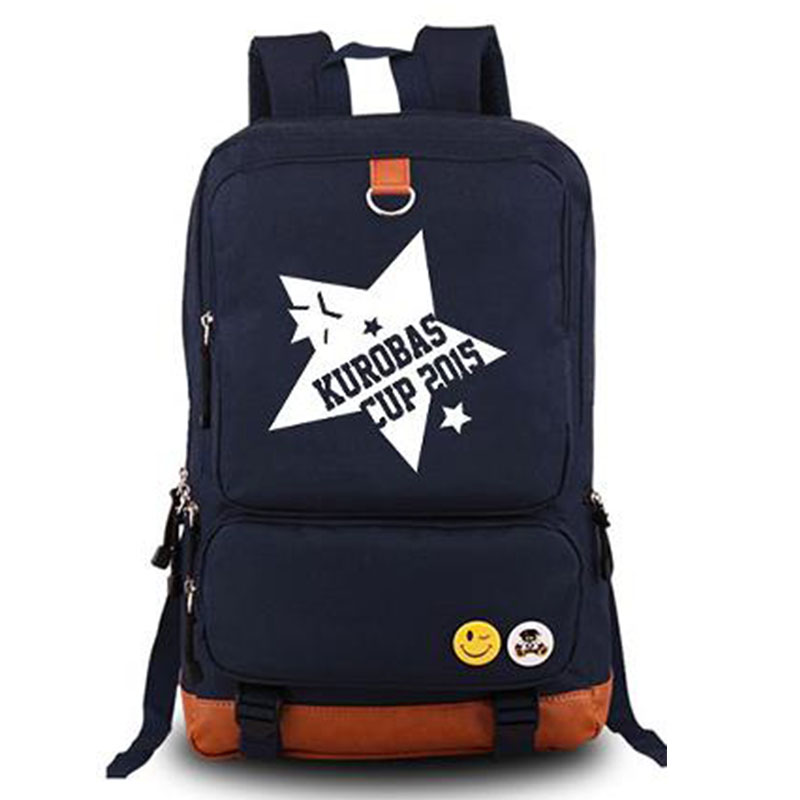 Kurokos Basketball Japan Anime Cosplay Backpacks Mens Brand Traveling Rucksack Schoolbag for Students Laptop Daypack Bags