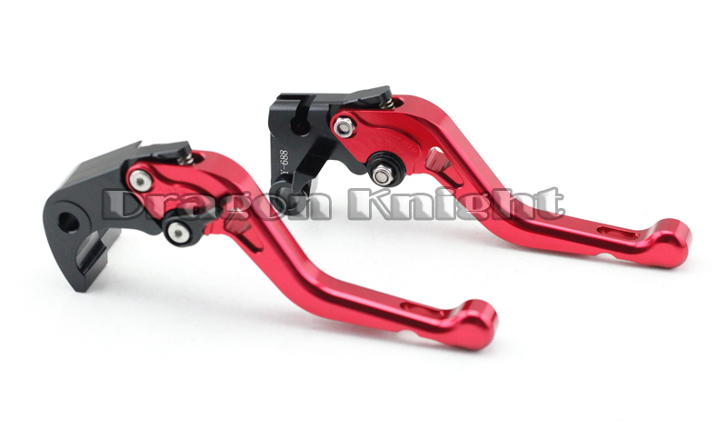 Motocycle Accessories For HONDA CBR600RR07-15 CBR1000RR 08-15 Short Brake Clutch Levers Red
