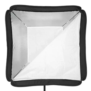 Image 2 - Godox 60x60 cm softbox kit flash difusor + s tipo suporte bowens suporte para canon nikon flash speedlite 60*60 cm caixa macia