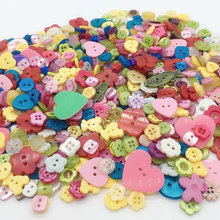 50 Gram colorful  Mixed shape size Buttons Sewing Craft Scrapbooking DIY Making Hand Knitting dolls clothing