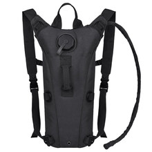 2f5c34a2d72 3L Water Bag Molle Military Tactical Hydration Backpack, 100 ounce Outdoor  Camping Cycling Camelback Nylon Camel Water Bladder B
