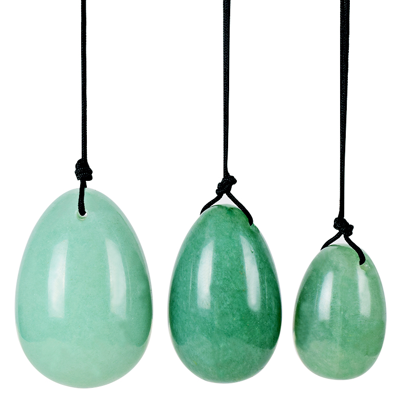 wholesale Yoni Eggs Natural Green Aventurine Jade Eggs for Kegel Exercise Crystal Healing Reiki 3 pcs/set велосипед cube aim 26 disc sl 2014