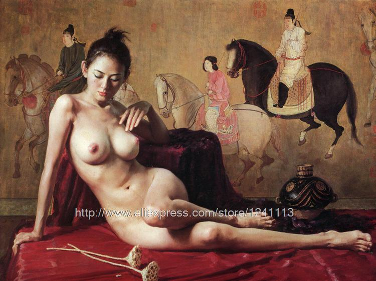 old chinese girls nude