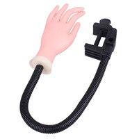 1 sztuk Trener Szkolenia Ręcznie Profesjonalny Paznokci Narzędzia Regulowany Nail Art Model szkolenie Praktyka Używana DIY Paznokci Manicure Narzędzia ręczne