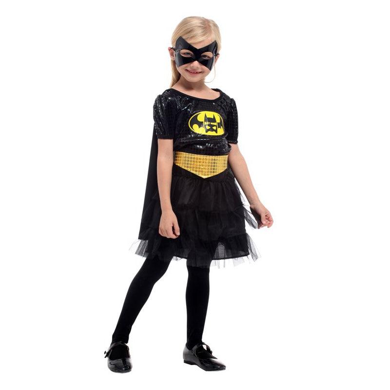 Umorden Purim Carnival Party Halloween Batman Costumes Girl Bat Man Costume Batgirl Cosplay Dress Fancy Dresses