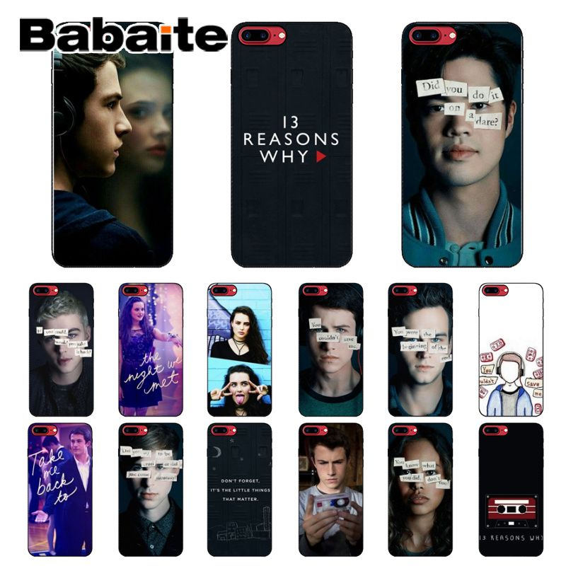 Babaite <font><b>13</b></font> <font><b>Reasons</b></font> <font><b>Why</b></font> Custom Photo Soft <font><b>Phone</b></font> <font><b>Case</b></font> for iPhone 6S 6plus 7 7plus 8 8Plus X Xs MAX 5 5S XR image