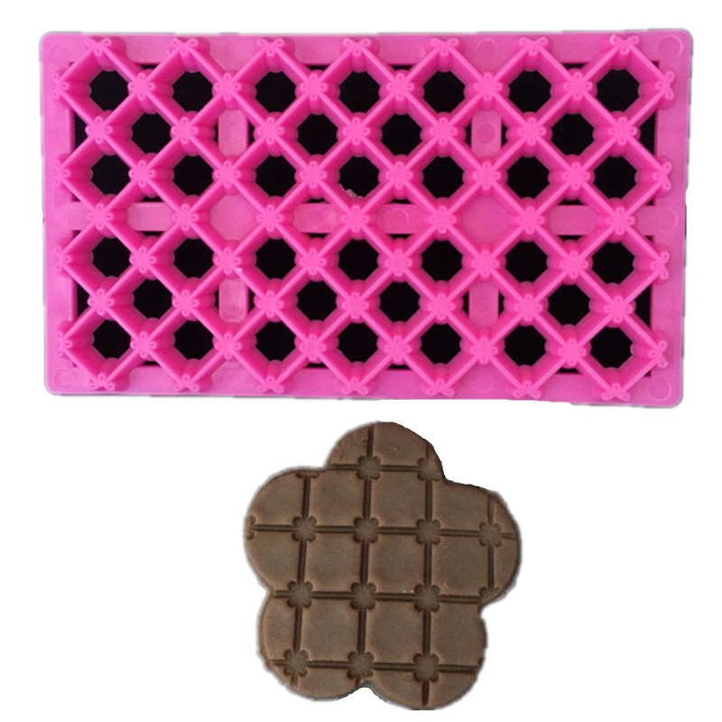 Sugar candy Quartet printing die molding decorative mold baking plastic tools
