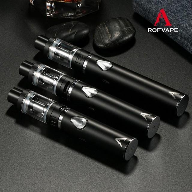 Rofvape Un Plus C Kit Kit de Cigarrillo Electrónico vaporizador evaporador Tanque Atomizador 1500/2200 mAh Narguile Electrónica 60 W Vape Mod