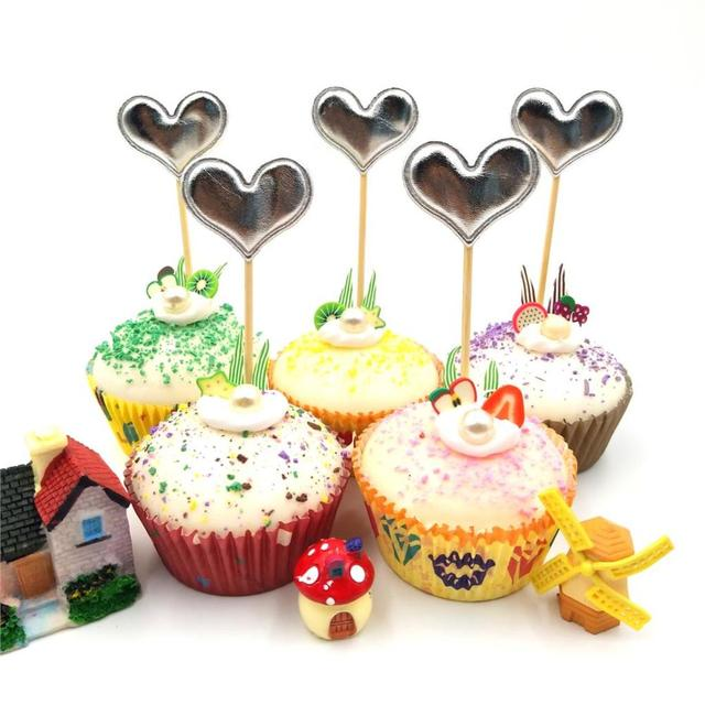 Excellent 5Pcs Lot Red Mickey Minnie Mouse Cupcake Toppers Birthday Party Funny Birthday Cards Online Necthendildamsfinfo