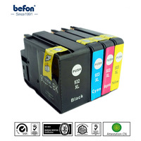 Befon Full Ink Compatible Cartridge Replacement For Hp 932 933 HP932 HP933 XL Ink Cartridge Officejet
