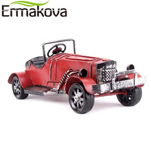 ERMAKOVA Metal Gran Torino Car Vintage Classic Runabout Car Model Retro Automobile Figurine Prop for Boy Gift Home Decor