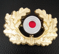 ww2 German military Wehrmacht Heer visor cap wreath badge medal
