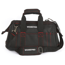 WORKPRO 16 inch Tool Bag Mens Kits Electrician