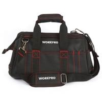 WORKPRO 16 inch Tool Bag Men's Tool Kits Bag Electrician Tool Bag
