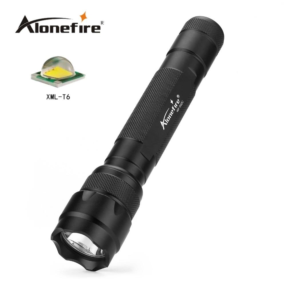 502C Cree Led Flashlight 2000LM Cree Xm-l T6/XM L2 LED 18650 Tactical Flashlight Torch Lamp Flashlights фара для велосипеда fenix bc30 cree xm l t6 nw cr123a 18650 mtb