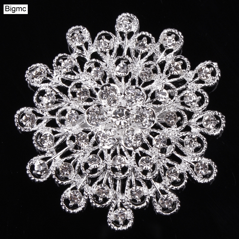 New high - grade alloy brooch clothing accessories DIY bridal hand holding flowers materials wedding H1016