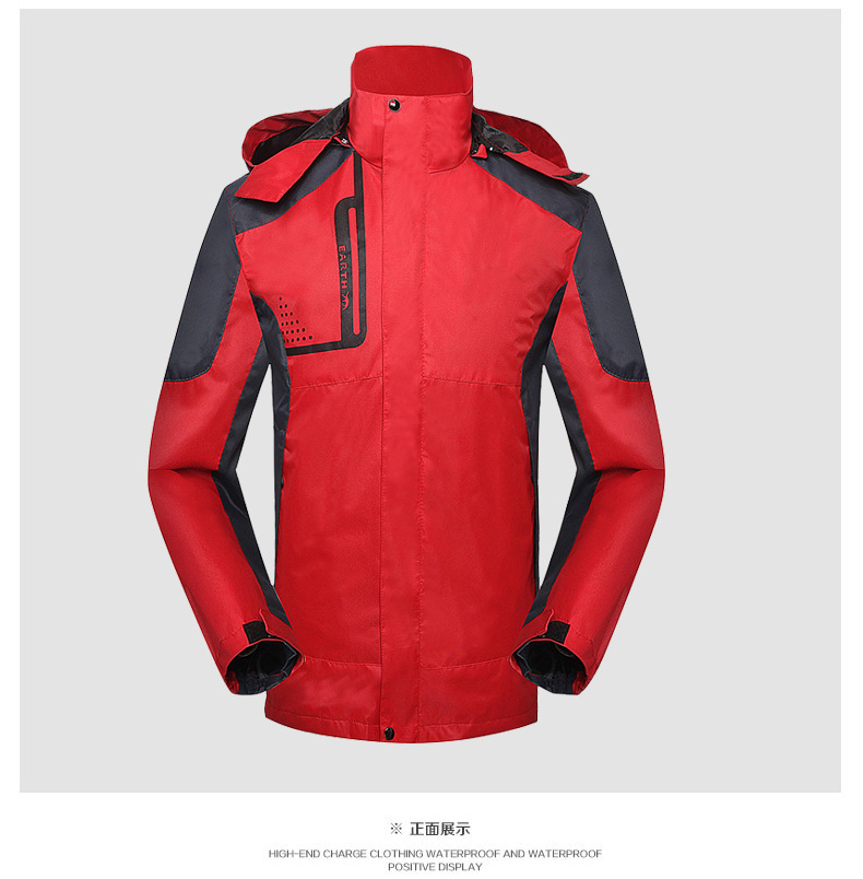 Spring and winter new thin single layer Jackets men and women outdoor fishing suit men s