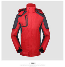 Spring and winter new thin single – layer Jackets men and women outdoor fishing suit men 's Jackets